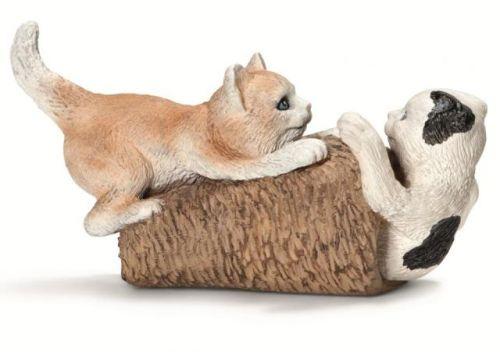 SCHLEICH Zvířátko koťata hrající si cena od 100 Kč