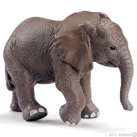 Schleich Mládě slona afrického cena od 129 Kč