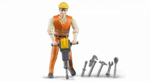 Bruder BWORLD 60020 Figurka dělník cena od 167 Kč