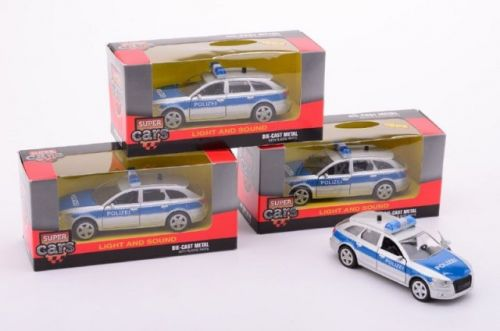 Johntoys Super policejní auta se zvukem a světlem cena od 0 Kč