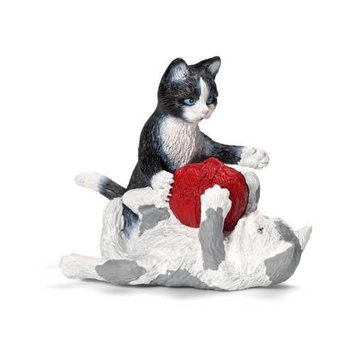 SCHLEICH Zvířátko koťata hrající si s klubíčkem cena od 110 Kč