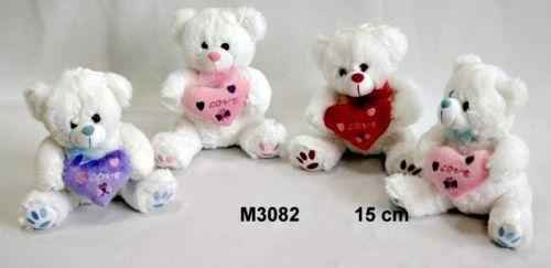 Vizopol Medvídek Milošek se srdcem 15 cm cena od 0 Kč