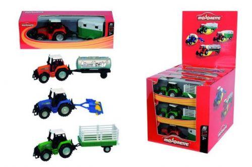 Majorette Traktor s přívěsem DP12 cena od 114 Kč