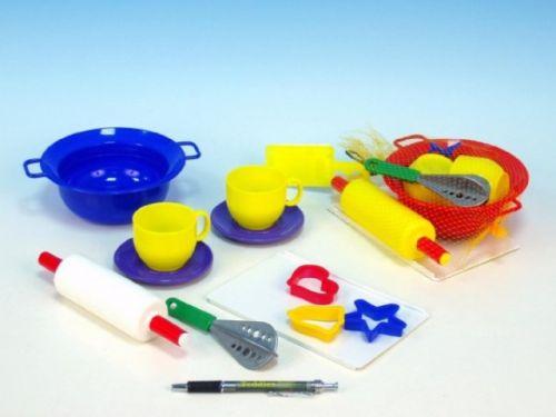 Mikro hračky Kuchyňská sada plast v síťce cena od 88 Kč