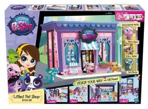 Hasbro Littlest Pet Shop PETSHOP OBCHŮDEK cena od 899 Kč