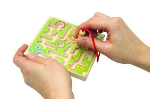 Woody Minilabyrint s kuličkou cena od 119 Kč