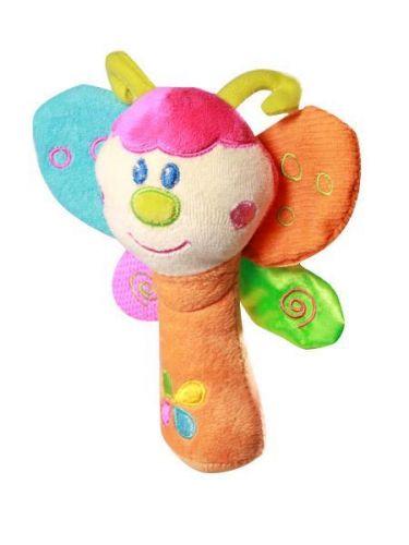 Baby Ono Plyšová hračka s chrastítkem Včelka
