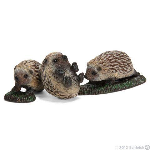 Schleich Zvířátka 3 mláďata ježka cena od 98 Kč