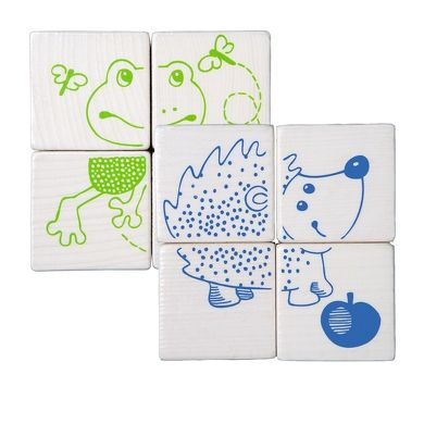 HABA Kostkové puzzle lesní zvířata cena od 0 Kč