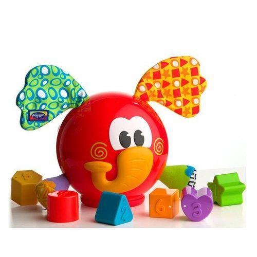 Playgro Q Vkládací slon s tvary cena od 290 Kč