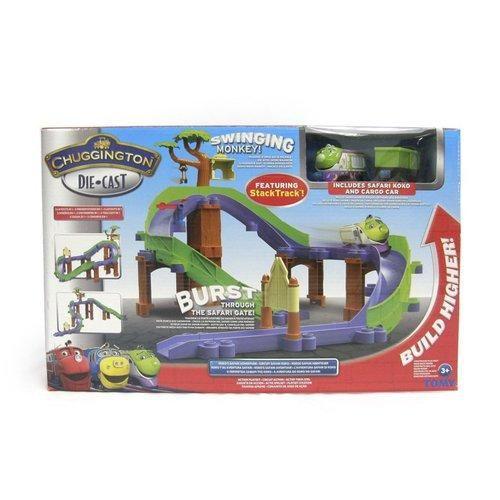 Chuggington CHUG Dobrodružný set safari s Koko cena od 764 Kč