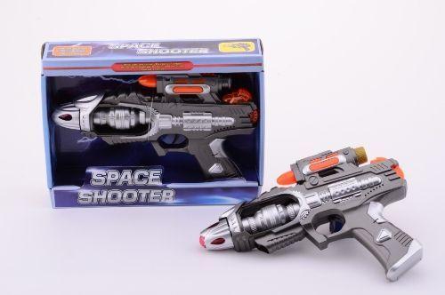 Johntoys Vesmírná pistole se světlem a zvukem cena od 143 Kč