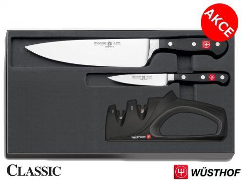 Wüsthof CLASSIC Sada nožů 2 ks + Brousek cena od 2999 Kč
