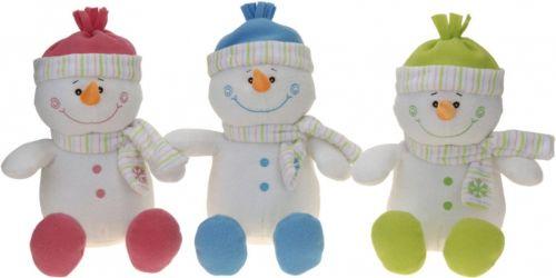 Koopman Usměvavý sněhulák s čepicí a šálou