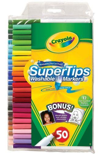 Crayola Fixy zářivé tenké