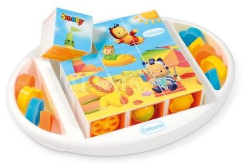 Smoby Cotoons kostky puzzle cena od 278 Kč