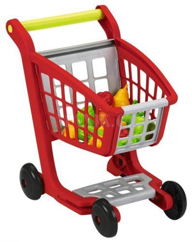 Ecoiffier Nákupní vozík s nákupem cena od 319 Kč