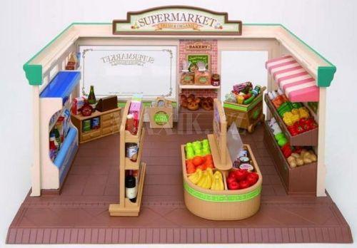 Sylvanian Families Supermarket s příslušenstvím cena od 999 Kč