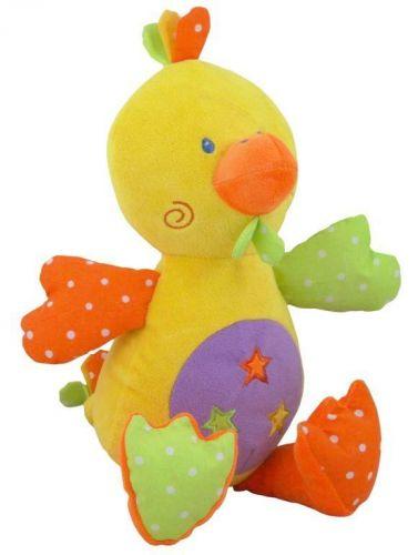 Baby Mix Chrastící plyšová hračka Kačenka