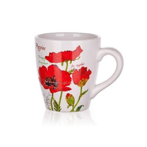BANQUET Red Poppy hrnek 500 ml cena od 70 Kč