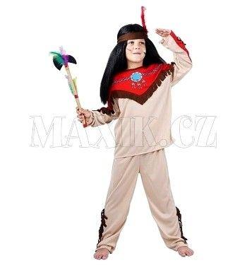MaDe Dětský kostým Indián