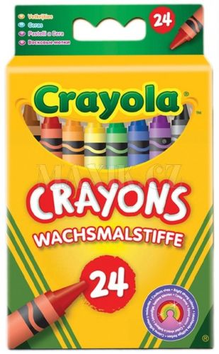 Crayola Voskovky 24 ks cena od 79 Kč