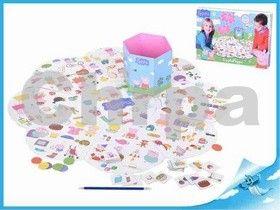 Mikro hračky Postřehová hra Peppa Pig v krabičce cena od 0 Kč