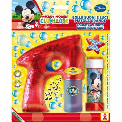 Dulcop Bublifuková pistole Disney Mickey + bublifuk 60 ml cena od 198 Kč