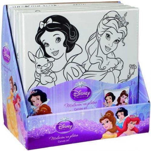 Disney princezny - Malování na plátno