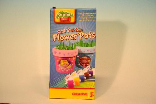 Grafix Namaluj si vlastní květináč Holčičí cena od 125 Kč