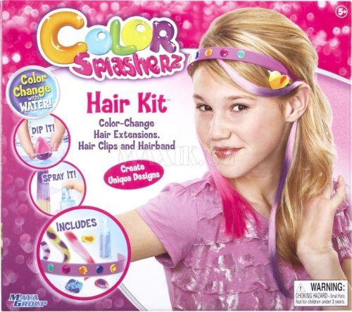 Alltoys Colour Splasherz Doplňkový set Hair Kit cena od 0 Kč