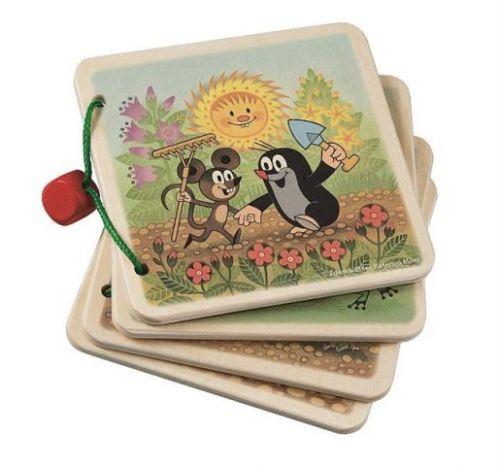 Detoa Obrázkové album krtek na zahradě cena od 129 Kč