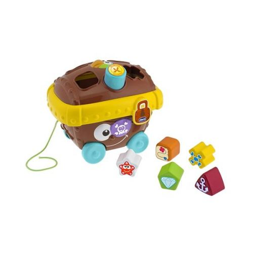 Chicco Pirátská truhla pokladů vkládací tvary