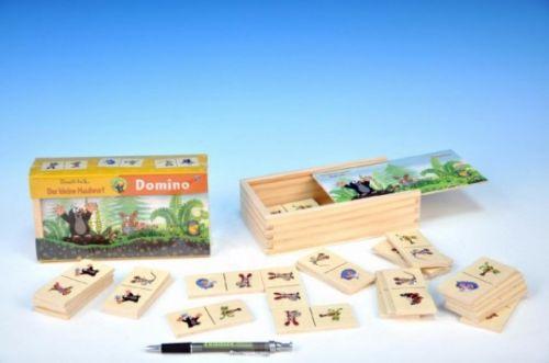 Detoa Domino Krtek dřevo 28 dílků cena od 144 Kč