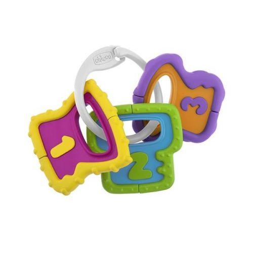 Chicco Chrastítko barevné klíče cena od 109 Kč