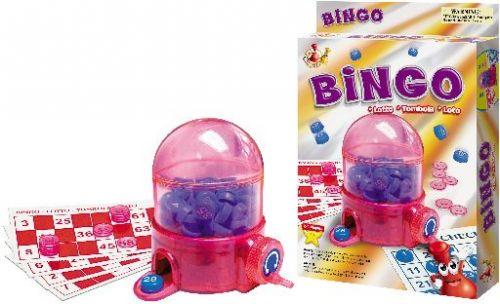 Bingo - cestovní hra