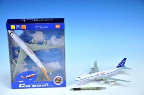Mikro hračky Letadlo kov 26 cm cena od 0 Kč