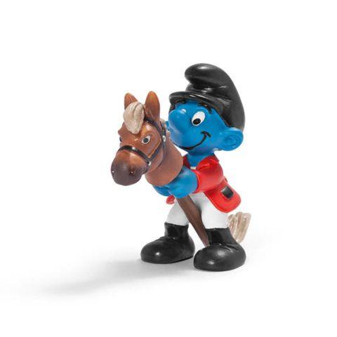 SCHLEICH Šmoula s koněm cena od 71 Kč