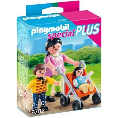 PLAYMOBIL Maminka s dětmi 4782 cena od 73 Kč