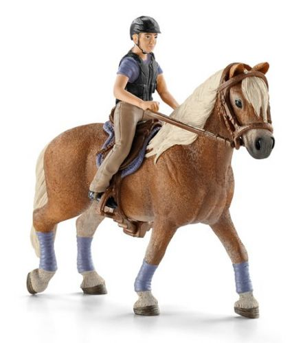 Schleich Rekreační jezdec na koni