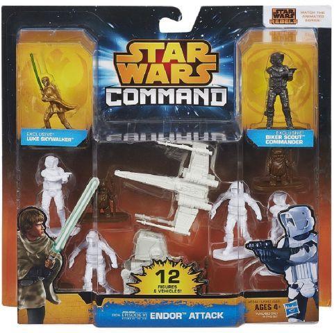 Hasbro Star Wars COMMAND MINIFIGURKY S VOZIDLY cena od 0 Kč