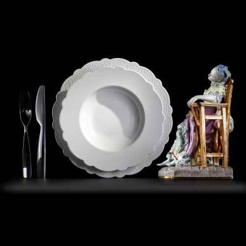 Alessi Dressed talíř cena od 0 Kč