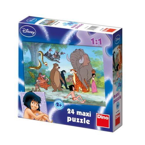 Kniha Džunglí - Maxi puzzle 24 dílků cena od 70 Kč