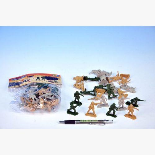 Mikro hračky Sada vojáci menší v sáčku cena od 35 Kč