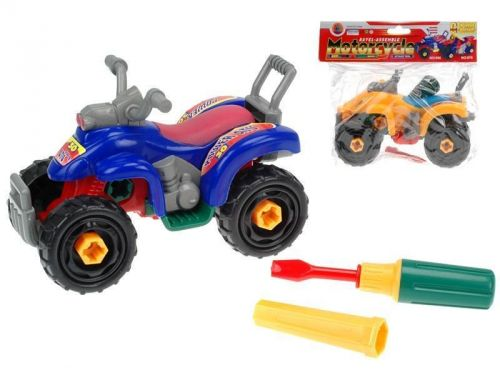 MIKRO hračky Čtyřkolka šroubovací cena od 75 Kč