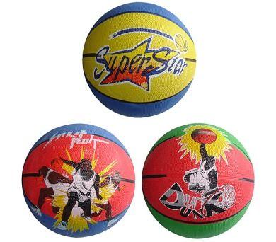Acra Basketbalový míč s potiskem