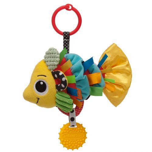 Infantino Chrastítko plyšové Zlatá rybka