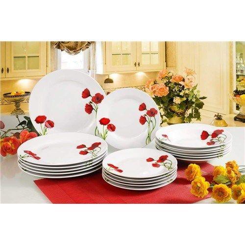 BANQUET Red Poppy talířová sada cena od 570 Kč