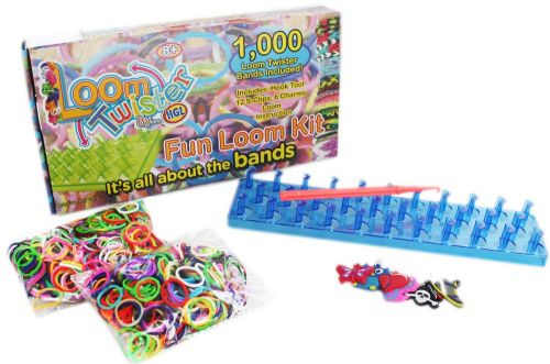 XXL obrazek 4 bambini LOOM BANDS Twister set