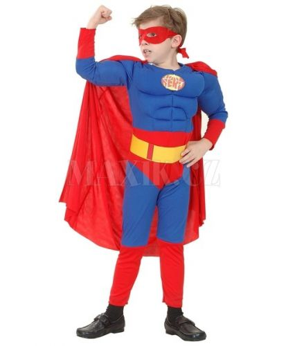 MaDe Dětský kostým Superman 6-8 let cena od 0 Kč